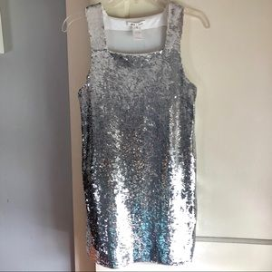 Alice + Olivia Sequin Shift Dress
